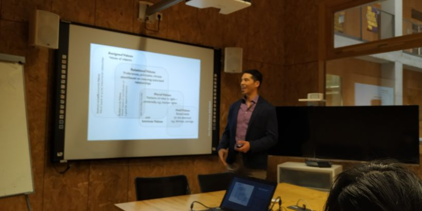Workshop with Prof Kai Chan - Relational values are fundamental for sustainable transformations