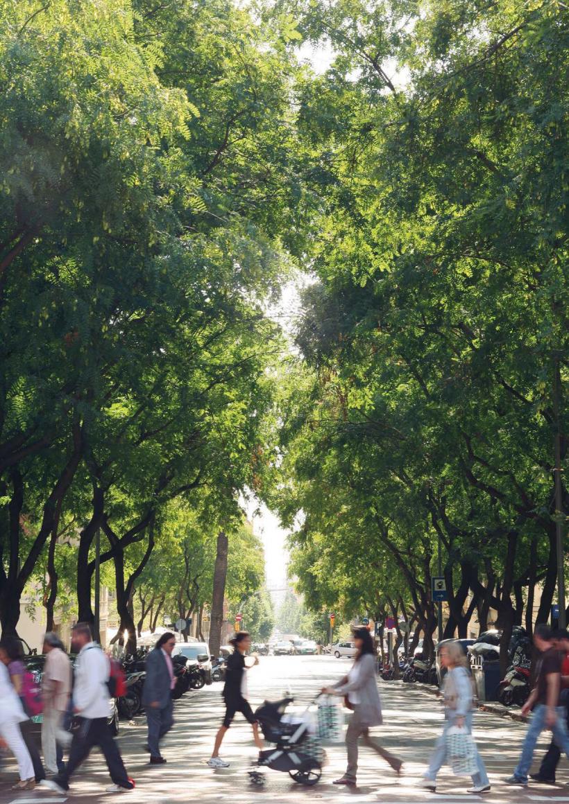 Can trees address environmental inequities in Mediterranean cities?