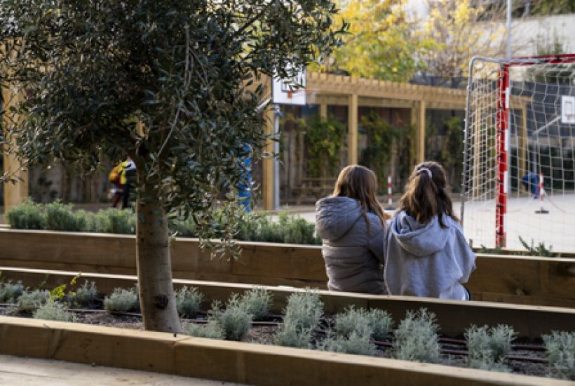 School greening: right or privilege? The case of Barcelona